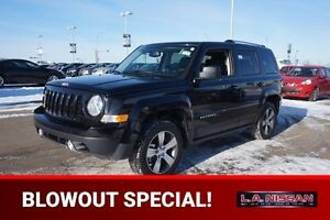 2016 Jeep Patriot 4X4 HIGH ALTITUDE Accident Free,  Leather,  He