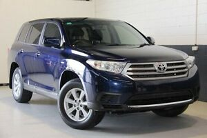 2012 Toyota Kluger  Blue Sports Automatic Wagon Hillcrest Port Adelaide Area Preview