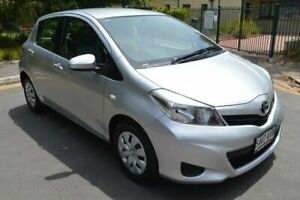 2012 Toyota Yaris NCP130R YR Silver 4 Speed Automatic Hatchback Norwood Norwood Area Preview
