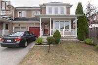 3Br Semi Detached Home for Rent from Nov.1 (Churchill Meadows)