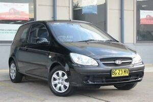 2010 Hyundai Getz TB MY09 S Black 4 Speed Automatic Hatchback Blacktown Blacktown Area Preview