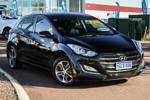 2015 Hyundai i30 GD3 Series II MY16 Active X Black 6 Speed Sports Automatic Hatchback East Rockingham Rockingham Area Preview
