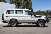 2015 Toyota Landcruiser VDJ78R Workmate Troopcarrier White 5 Speed Manual Wagon Maddington Gosnells Area Preview