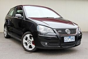 2008 Volkswagen Polo Black Manual Hatchback Dandenong Greater Dandenong Preview