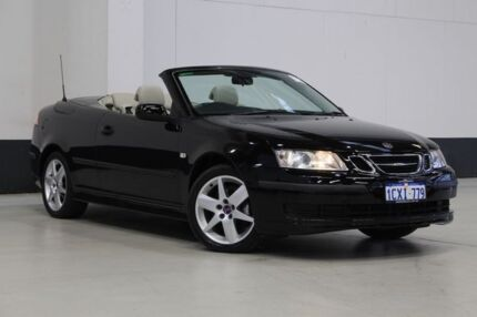 2007 Saab 9-3 MY08 Linear 2.0T Black 5 Speed Auto Sensonic Convertible Bentley Canning Area Preview