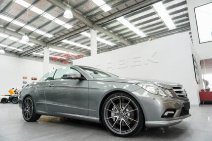 2010 Mercedes-Benz E500 207 Avantgarde Grey 7 Speed Automatic G-Tronic Cabriolet