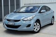 2013 Hyundai Elantra MD2 Active Blue 6 Speed Sports Automatic Sedan Rutherford Maitland Area Preview