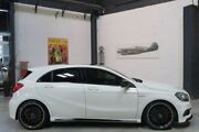 2014 Mercedes-Benz A45 W176 AMG SPEEDSHIFT DCT 4MATIC White 7 Speed Sports Automatic Dual Clutch Port Melbourne Port Phillip Preview