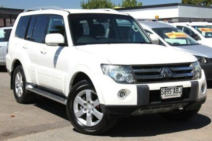 2006 Mitsubishi Pajero NS VR-X White 5 Speed Sports Automatic Wagon Hillcrest Port Adelaide Area Preview
