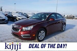 2016 Chevrolet Cruze Limited LIMITED Accident Free,  Backup Cam,