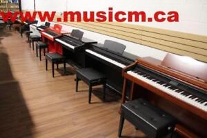 Back to school! Digital Piano 88 Weighted Keys Keyboard 3 Pedal Stand Refurbished/Brand New With Warranty www.musicm.ca