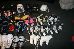 Boys, girls hockey ringette equipment, pads, skates Kitchener / Waterloo Kitchener Area image 1