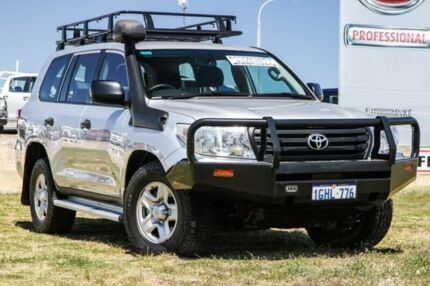 2012 Toyota Landcruiser VDJ200R MY12 GX Silver 6 Speed Sports Automatic Wagon