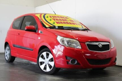 2010 Holden Barina TK MY10 Red 5 Speed Manual Hatchback Underwood Logan Area Preview