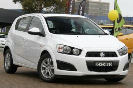 2012 Holden Barina TM White 5 Speed Manual Hatchback Rosebery Inner Sydney Preview