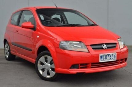 2007 Holden Barina  Chilli Red Automatic Hatchback Cranbourne Casey Area Preview