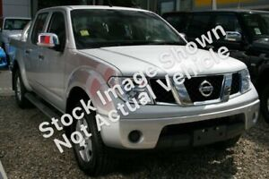 2009 Nissan Navara D40 ST-X Silver 6 Speed Manual Utility South Gladstone Gladstone City Preview