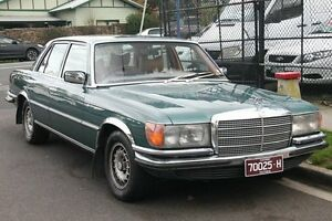 1977 Mercedes-Benz 450 SE Green 3 Speed Automatic Sedan Briar Hill Banyule Area Preview