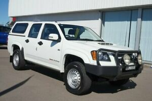 2009 Holden Colorado RC MY09 LX Crew Cab 4x2 White 5 Speed Manual Utility Cardiff Lake Macquarie Area Preview