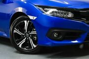 2018 Honda Civic 10th Gen MY18 RS Blue 1 Speed Constant Variable Sedan Hamilton East Newcastle Area Preview