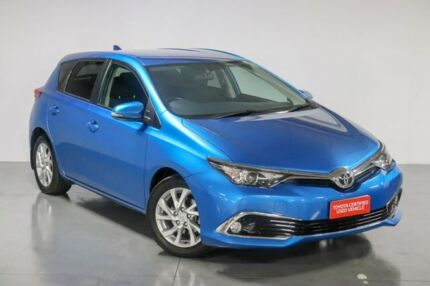 2017 Toyota Corolla ZRE182R Ascent Sport S-CVT Blue 7 Speed Constant Variable Hatchback Waitara Hornsby Area Preview