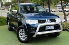 2010 Mitsubishi Challenger PB (KH) MY10 LS Blue 5 Speed Sports Automatic Wagon Berwick Casey Area Preview