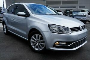 2014 Volkswagen Polo 6R MY15 81TSI Comfortline Silver 6 Speed Manual Hatchback Pearce Woden Valley Preview