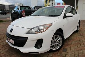 2013 Mazda 3 BL10F2 MY13 Maxx Activematic Sport White 5 Speed Sports Automatic Hatchback Parramatta Park Cairns City Preview