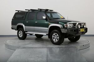 2003 Toyota Hilux VZN167R MY02 SR5 Green 5 Speed Manual Utility Old Guildford Fairfield Area Preview