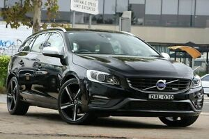 2014 Volvo V60 F MY15 T5 R-Design Black 8 Speed Automatic Wagon Lindfield Ku-ring-gai Area Preview