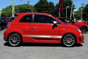 2011 Abarth 500 Series 1 Esseesse Red 5 Speed Manual Hatchback Osborne Park Stirling Area Preview
