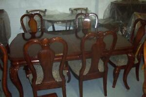SET CUSINE 6 CHAISES PATTE COURBÉE & BUFFET