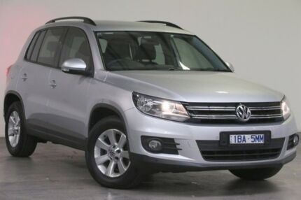 2013 Volkswagen Tiguan 5N MY13.5 132TSI DSG 4MOTION Pacific Silver 7 Speed