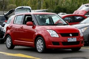 2009 Suzuki Swift RS415 S Red 4 Speed Automatic Hatchback Ringwood East Maroondah Area Preview