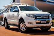 2016 Ford Ranger PX MkII XLT Double Cab White 6 Speed Sports Automatic Utility Wangara Wanneroo Area Preview