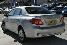 2008 Toyota Corolla ZRE152R Ascent Silver 4 Speed Automatic Sedan Pennant Hills Hornsby Area Preview
