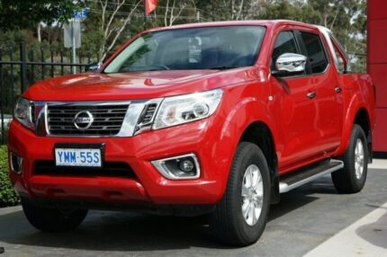 2016 Nissan Navara D23 S2 ST Burning Red 7 Speed Sports Automatic Utility