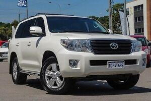 2014 Toyota Landcruiser VDJ200R MY13 Altitude White 6 Speed Sports Automatic Wagon Myaree Melville Area Preview