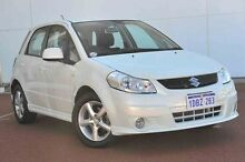 2009 Suzuki SX4 GYA 100th Anniversary Pearl White 4 Speed Automatic Hatchback Wangara Wanneroo Area Preview