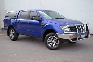 2013 Ford Ranger PX XL Double Cab 4x2 Hi-Rider Blue 6 Speed Sports Automatic Utility Woodbridge Swan Area Preview