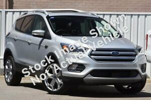 2018 Ford Escape ZG 2018.00MY Titanium PwrShift AWD Silver 6 Speed Sports Automatic Dual Clutch Bundoora Banyule Area Preview