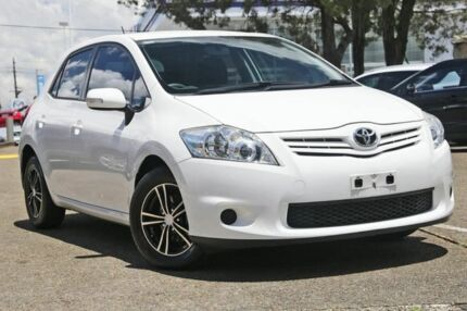 2009 Toyota Corolla ZRE152R Ascent White 6 Speed Manual Hatchback Liverpool Liverpool Area Preview