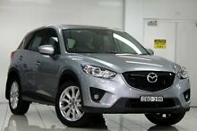 2013 Mazda CX-5 MY13 Akera (4x4) Grey 6 Speed Automatic Wagon Chatswood West Willoughby Area Preview
