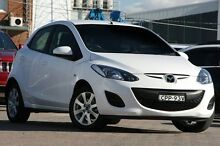 2013 Mazda 2 DE MY14 Neo Sport White 4 Speed Automatic Hatchback Waitara Hornsby Area Preview