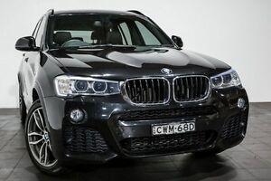 2015 BMW X3 F25 LCI xDrive20d Steptronic Black 8 Speed Automatic Wagon Rozelle Leichhardt Area Preview