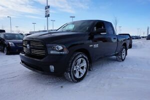 2014 Ram 1500 4X4 QUADCAB SPORT Accident Free,  Navigation (GPS)