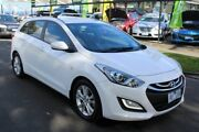 2013 Hyundai i30 GD Active Tourer White 6 Speed Sports Automatic Wagon West Footscray Maribyrnong Area Preview