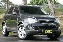 2011 Holden Captiva CG Series II 5 Black 6 Speed Sports Automatic Wagon West Gosford Gosford Area Preview