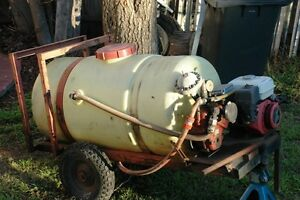 300ltr Poly tank and trailer with recycling pressure pump & motor Mittagong Bowral Area Preview