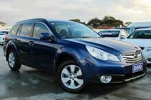 2010 Subaru Outback B5A MY11 2.5i Lineartronic AWD Premium Blue 6 Speed Constant Variable Wagon Craigieburn Hume Area Preview